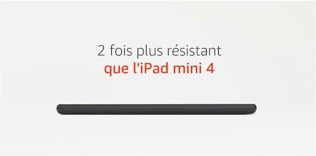 résistance tablette fire 7 2017