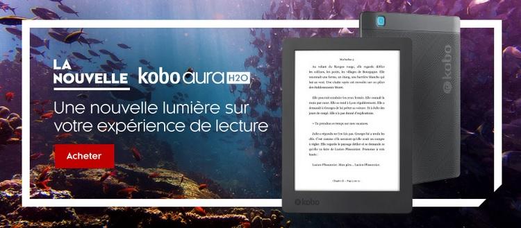 Kobo aura H2O 2017