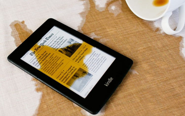 waterfi kindle waterproof ereader