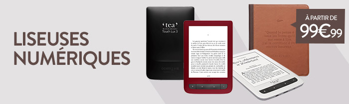 liseuses ebooks cultura