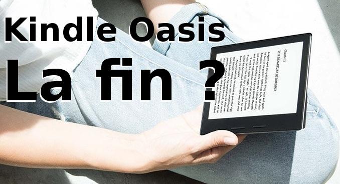 fin de la Kindle Oasis