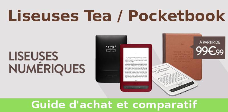 comparatif liseuses tea