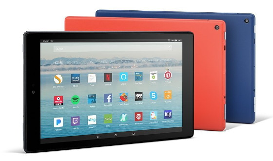 tablette Fire HD 10
