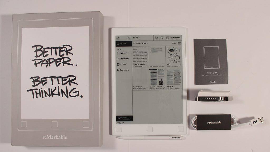 tablette liseuse ReMarkable