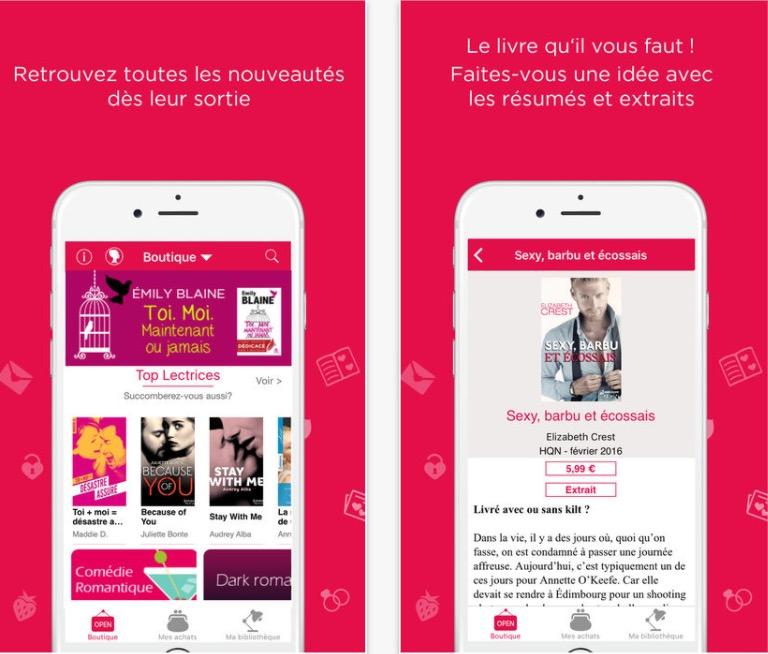 girlyboox application de lecture pour les filles