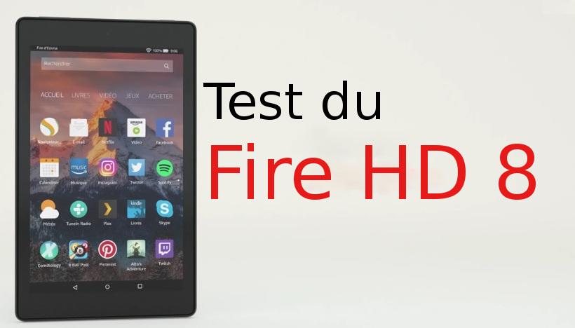test Fire HD 8