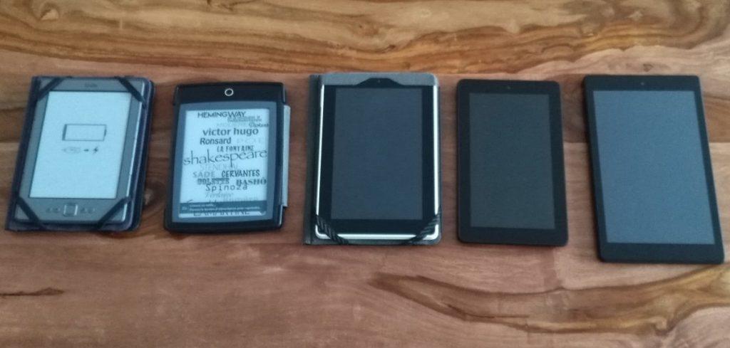 toutes mes liseuses et tablettes
