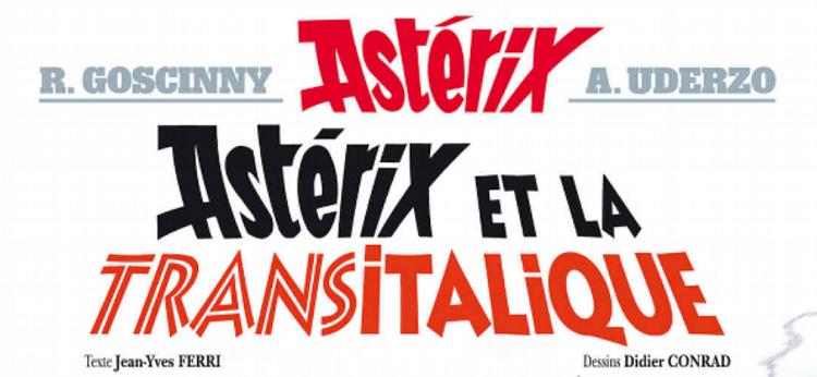 astérix et la transitalique