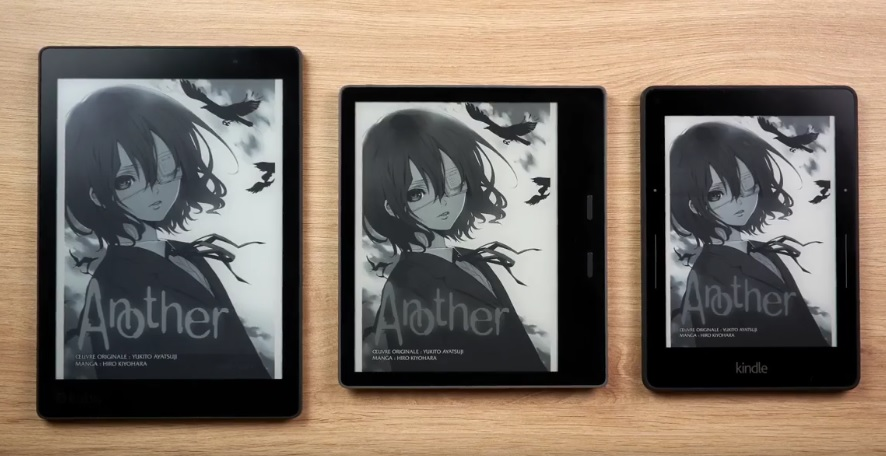 kindle oasis manga