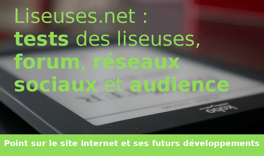 point sur le site liseuses.net
