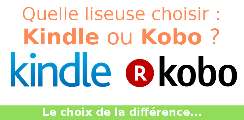Kindle ou Kobo ?