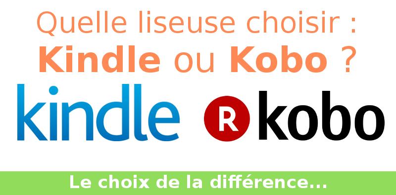 Kindle ou Kobo ?