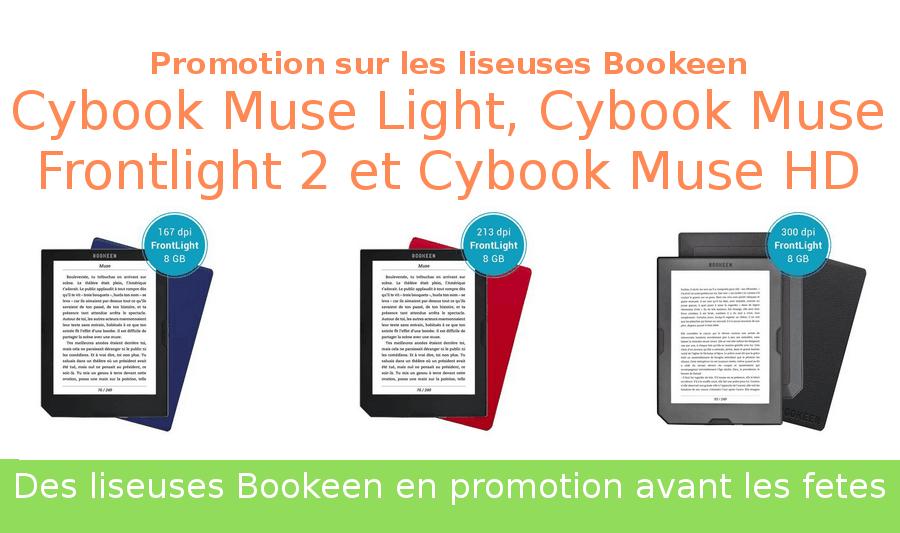 promotion sur les liseuses Bookeen