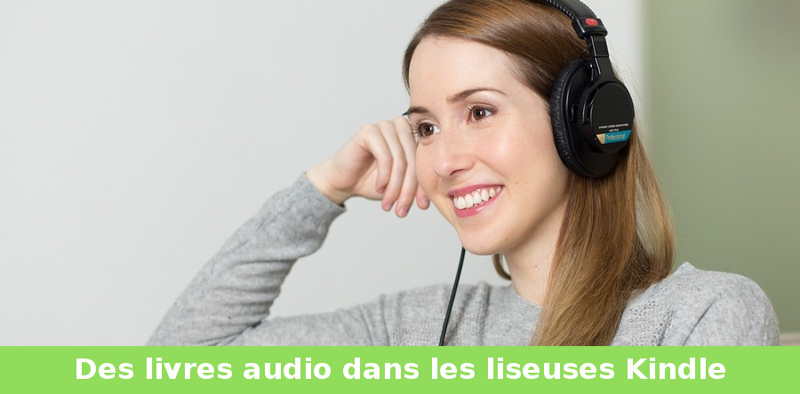 livre audio audible liseuse Kindle