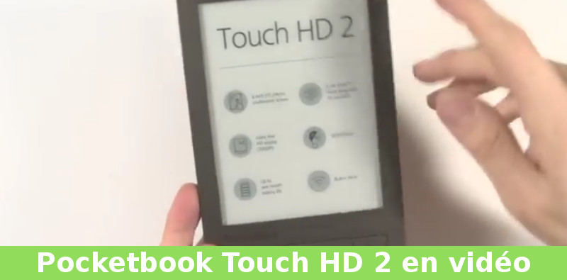 video pocketbook touch hd 2