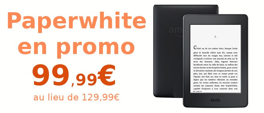 promo Kindle Paperwhite