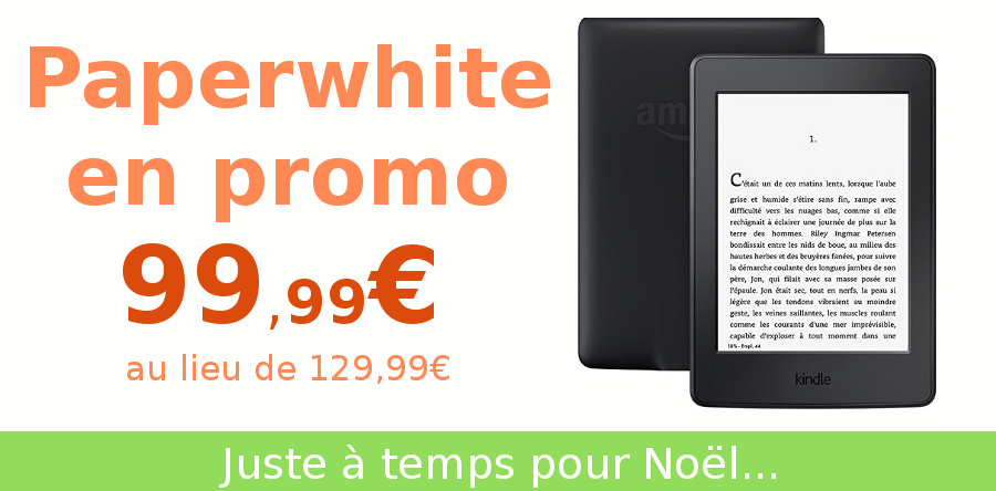 paperwhite en promotion