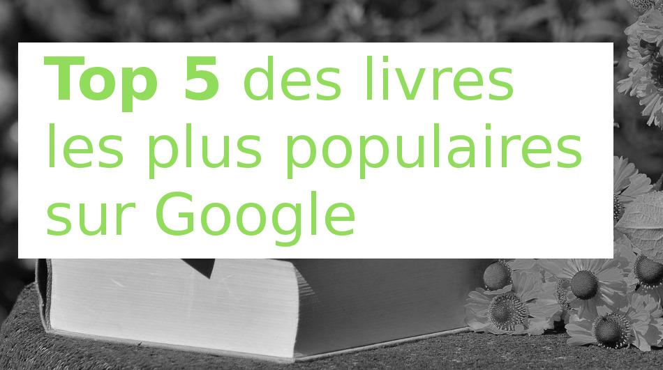 top 5 google livres 2017