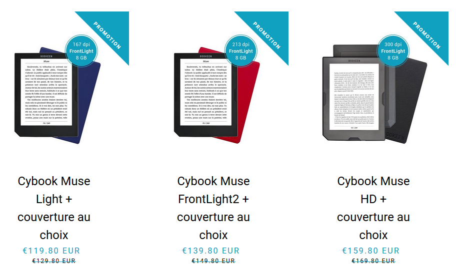 Soldes Cybook Bookeen 2018