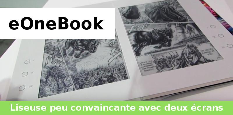 eOneBook liseuse 2018