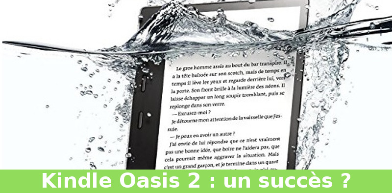 succès kindle oasis 2