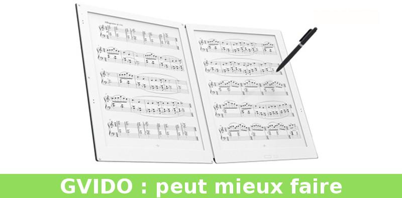 liseuse GVIDO pour musiciens