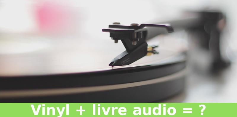 livre audio sur vinyl
