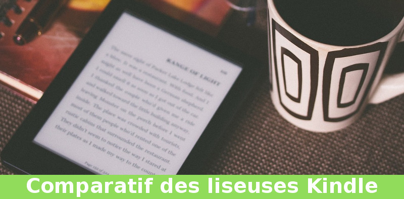 guide comparaison liseuse Kindle