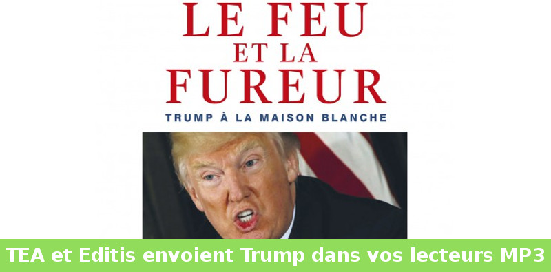 trump en ebook lizzie en France