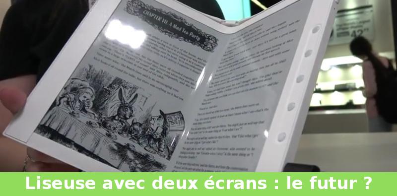 liseuse deux écrans pour le futur de la lecture ebook
