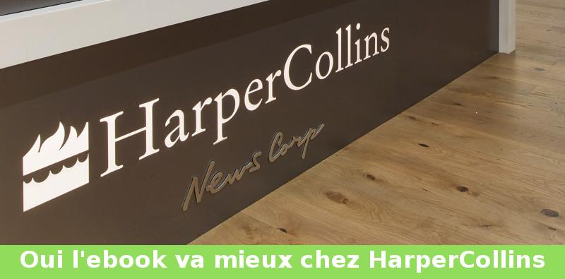 harperCollins ventes numériques