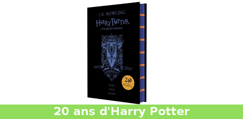 20 ans harry potter
