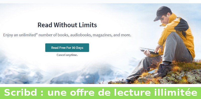 livres audio illimités avec Scribd