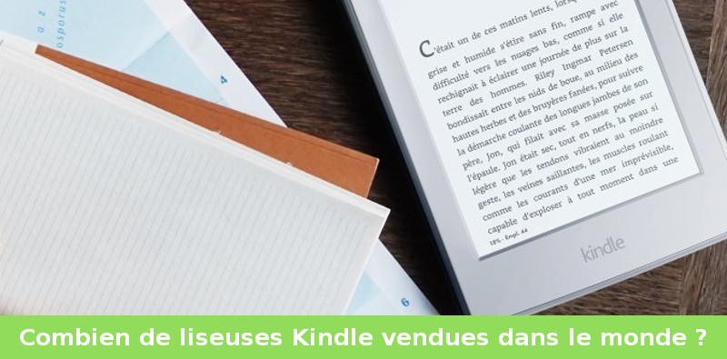 ventes liseuses kindle