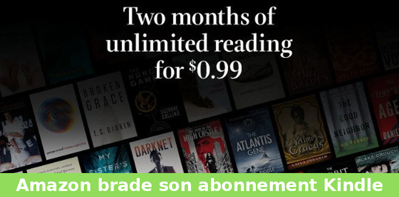 abonnement kindle unlimited pas cher USA