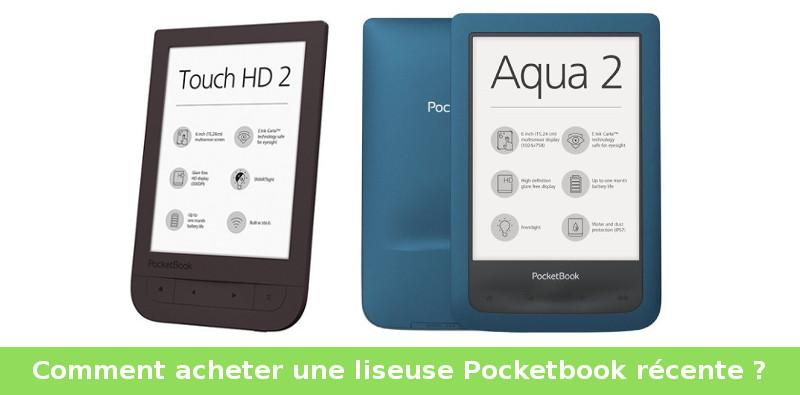 acheter liseuse aqua 2 et touch hd 2 pocketbook