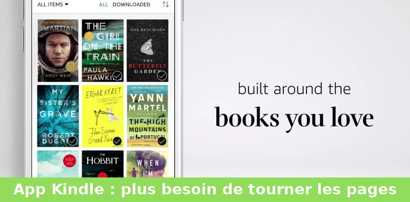 nouvelle application Kindle pour iOS