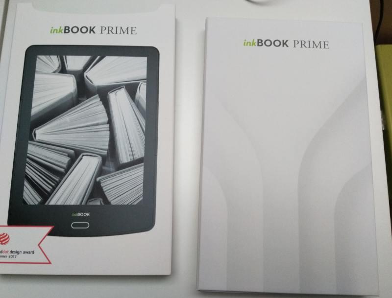 liseuse inkbook prime