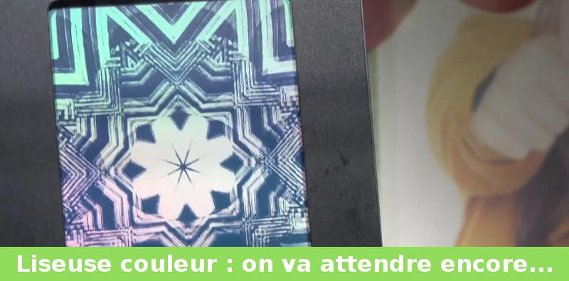 future liseuse couleur prototype