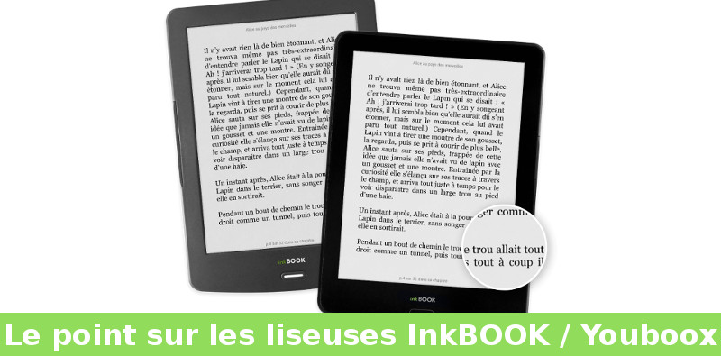 comparatif liseuses inkbook