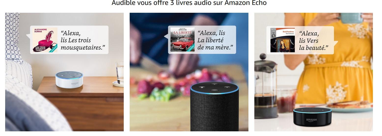 echo livres audio offert