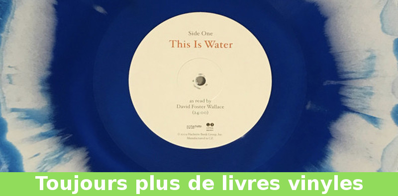 this is water sur vinyle