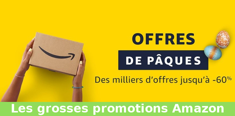 promotion amazon paques 2018