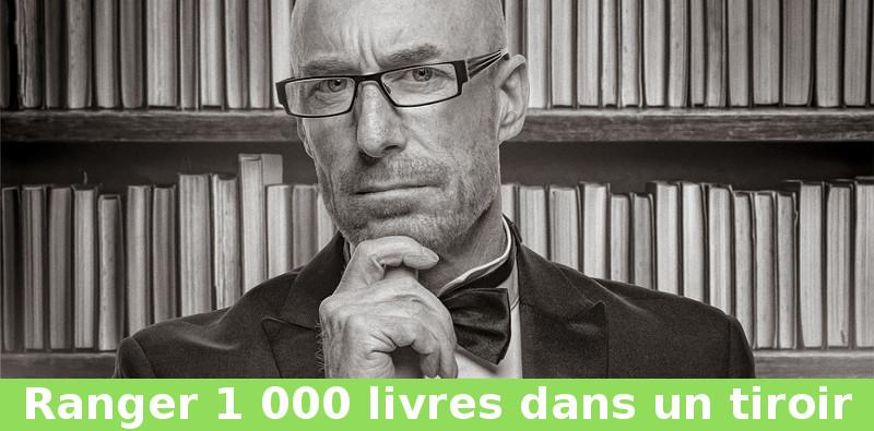 ranger 1 000 livres