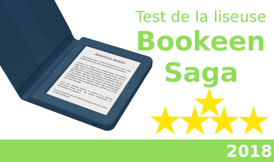 test liseuse bookeen saga