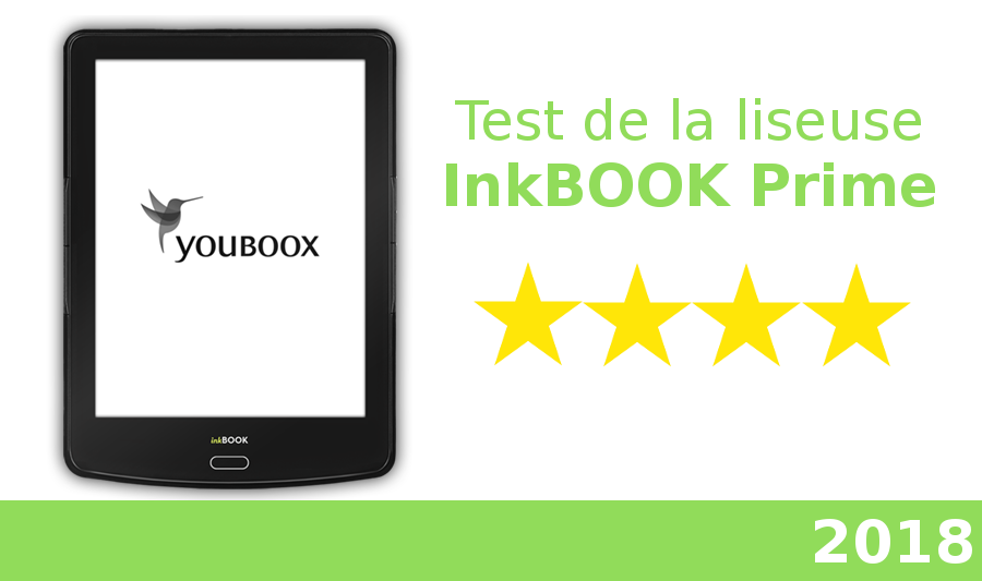 test liseuse inkbook prime