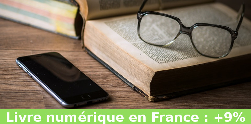 ventes livres ebooks en France
