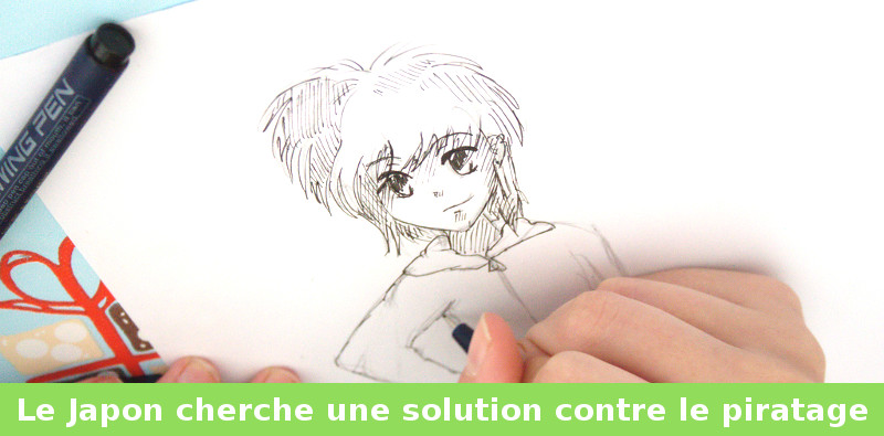 japon manga piratage
