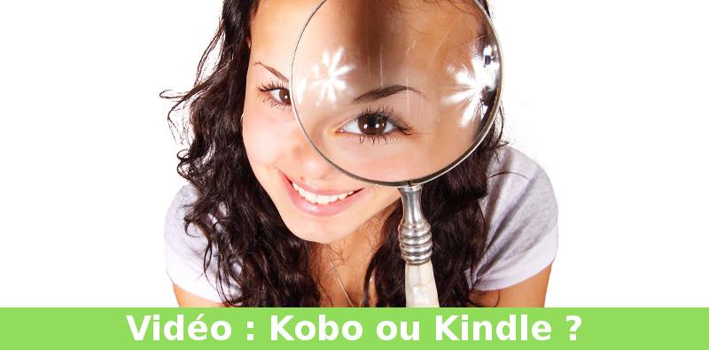 kobo ou kindle vidéo