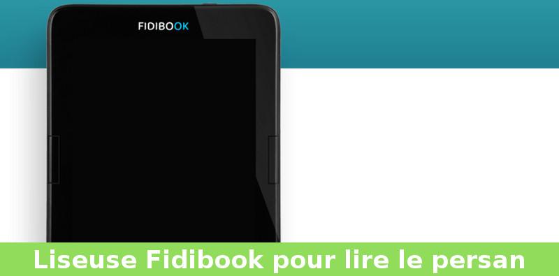liseuse fidibook